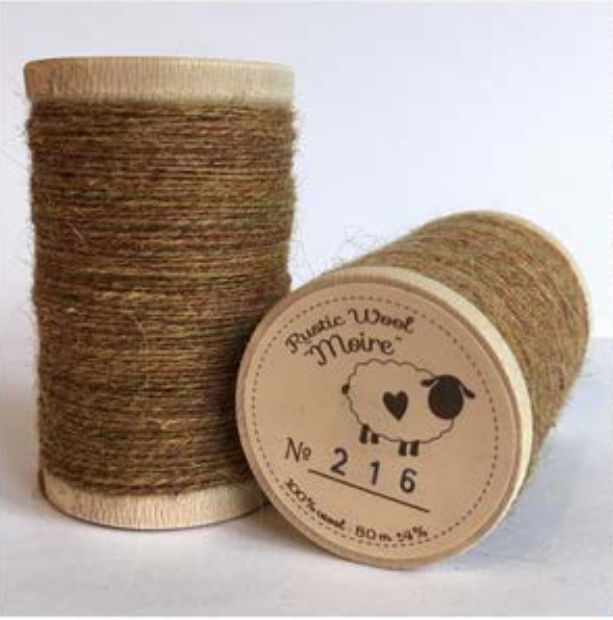 Rustic Moire Thread 216*
