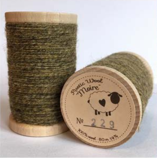 Rustic Moire Thread 229*+
