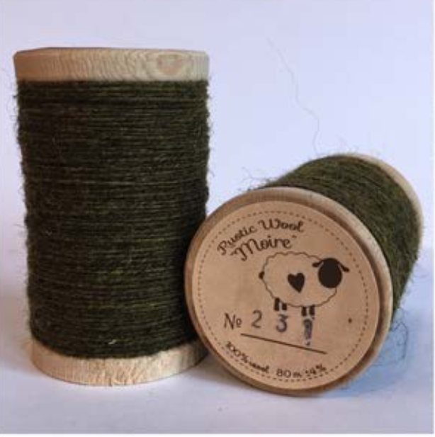 Rustic Moire Thread 231*