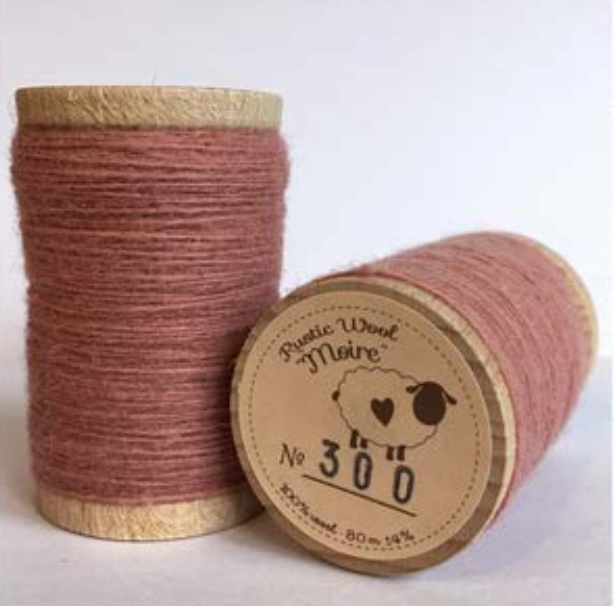Rustic Moire Thread 300*+