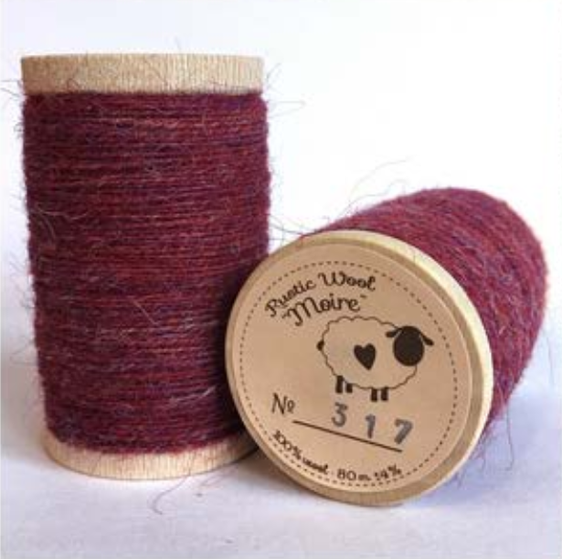 Rustic Moire Thread 317*+