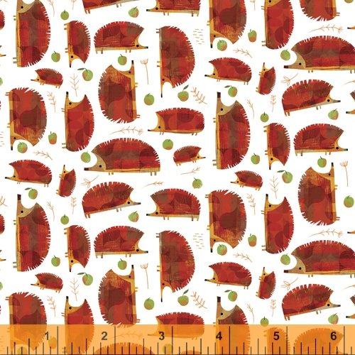 52285D 3  Baby Hedgehogs Woodland