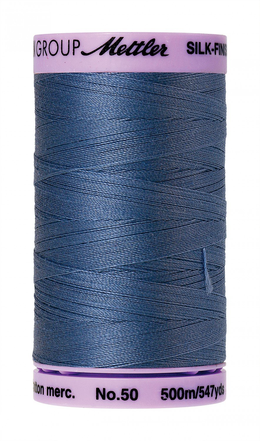 Mettler Silk-Finish 50wt Solid Cotton Thread 547yd - 351 Large