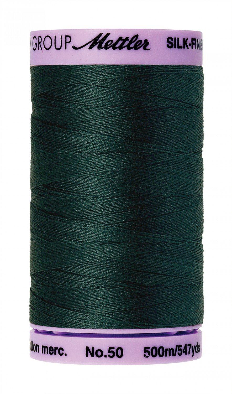 Mettler Silk-Finish 50wt Solid Cotton Thread 547yd - 864 Large+