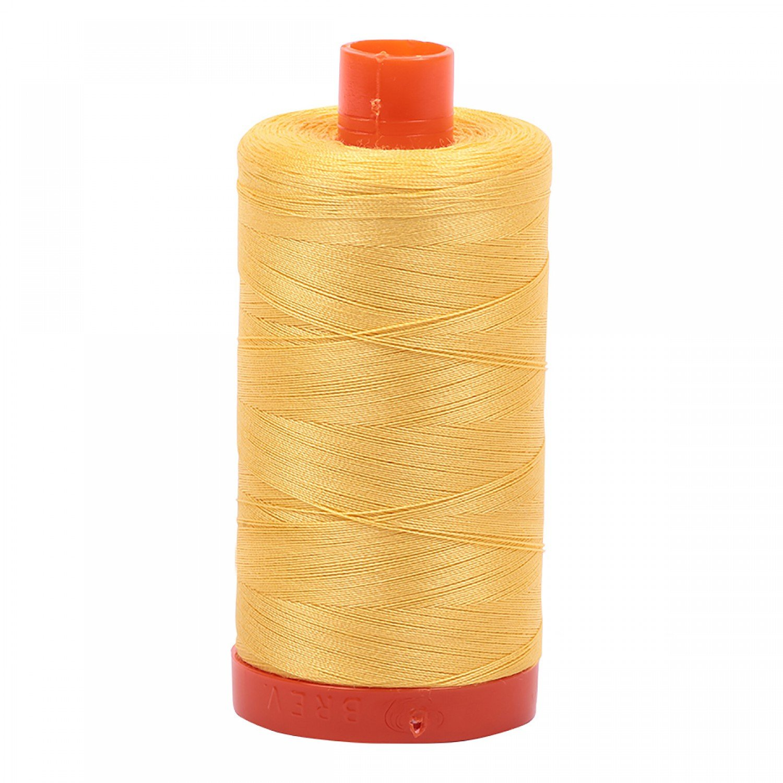 Aurifil Cotton 50wt 1135 Pale Yellow