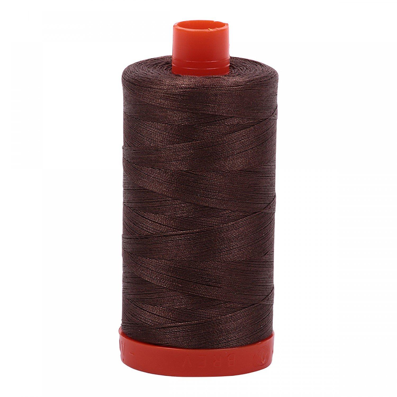 Aurifil Cotton 50wt 1140 Bark