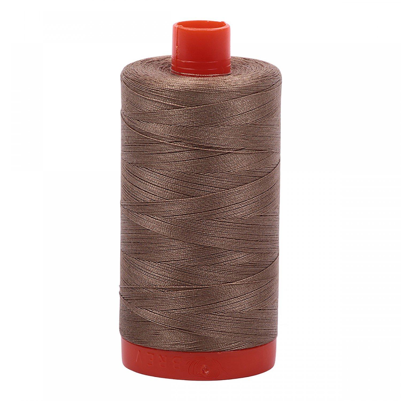 Aurifil Cotton 50wt 2370 Sandstone