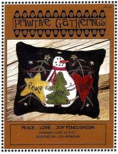 Peace Love Joy Pincushion Kit!