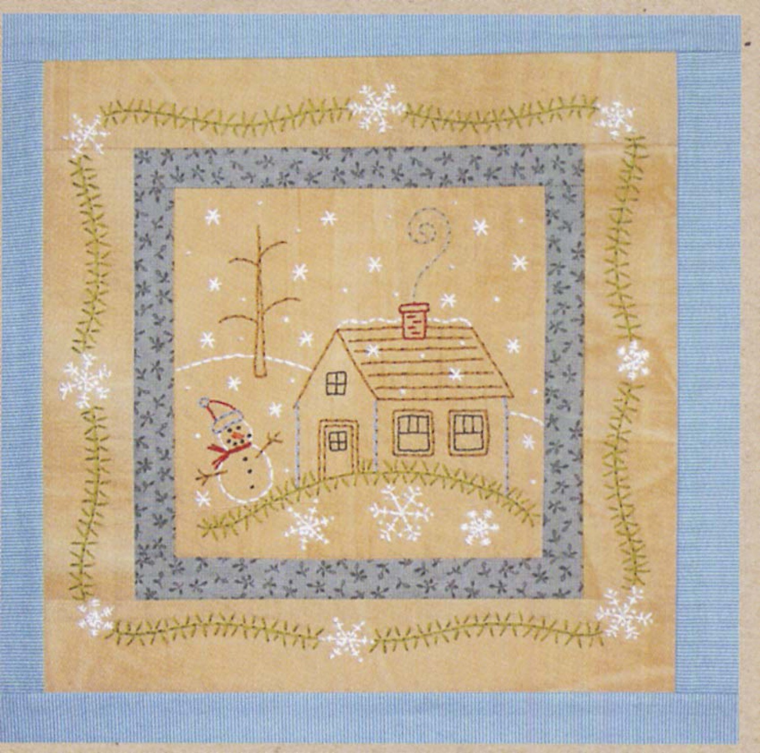 Little Stitchies January House*+