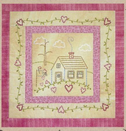 Little Stitchies #171 February House*+