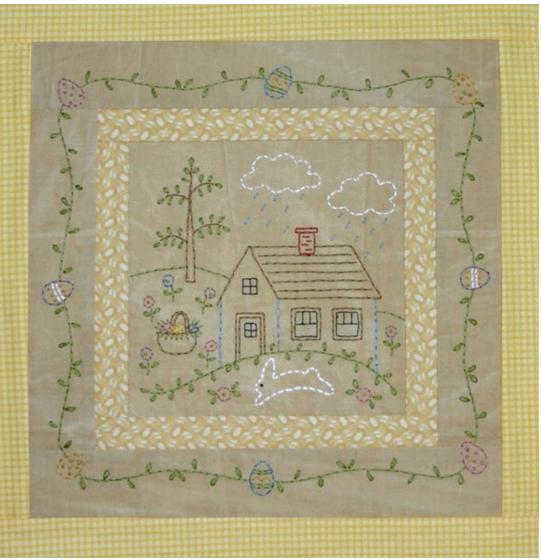 Little Stitchies #173 April House+