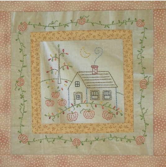 Little Stitchies #179 October House*+