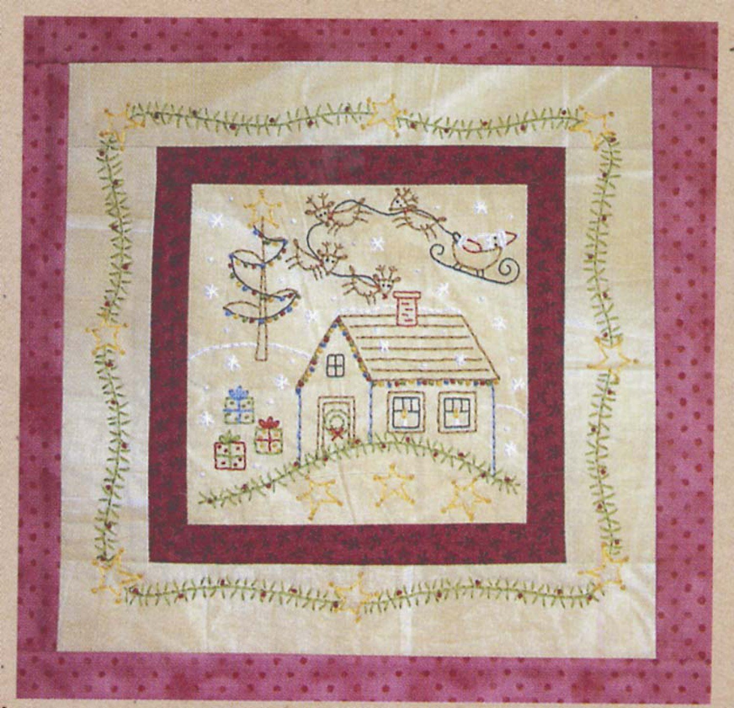 Little Stitchies 181 December House*+