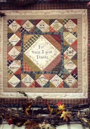 Thanksgiving Wall Quilt*+