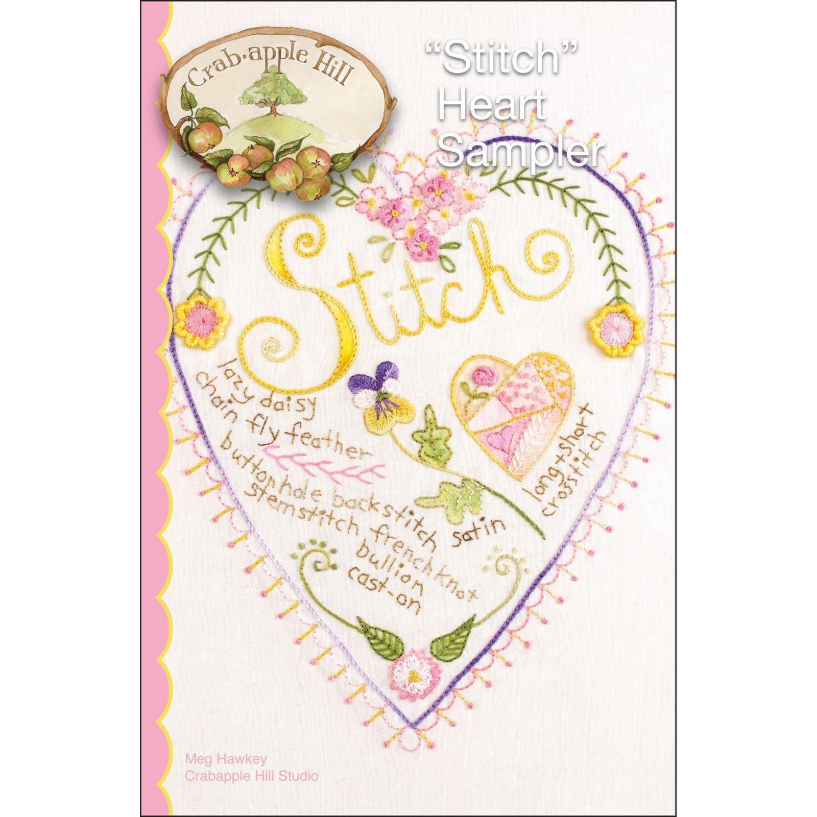 Stitch Heart Sampler+
