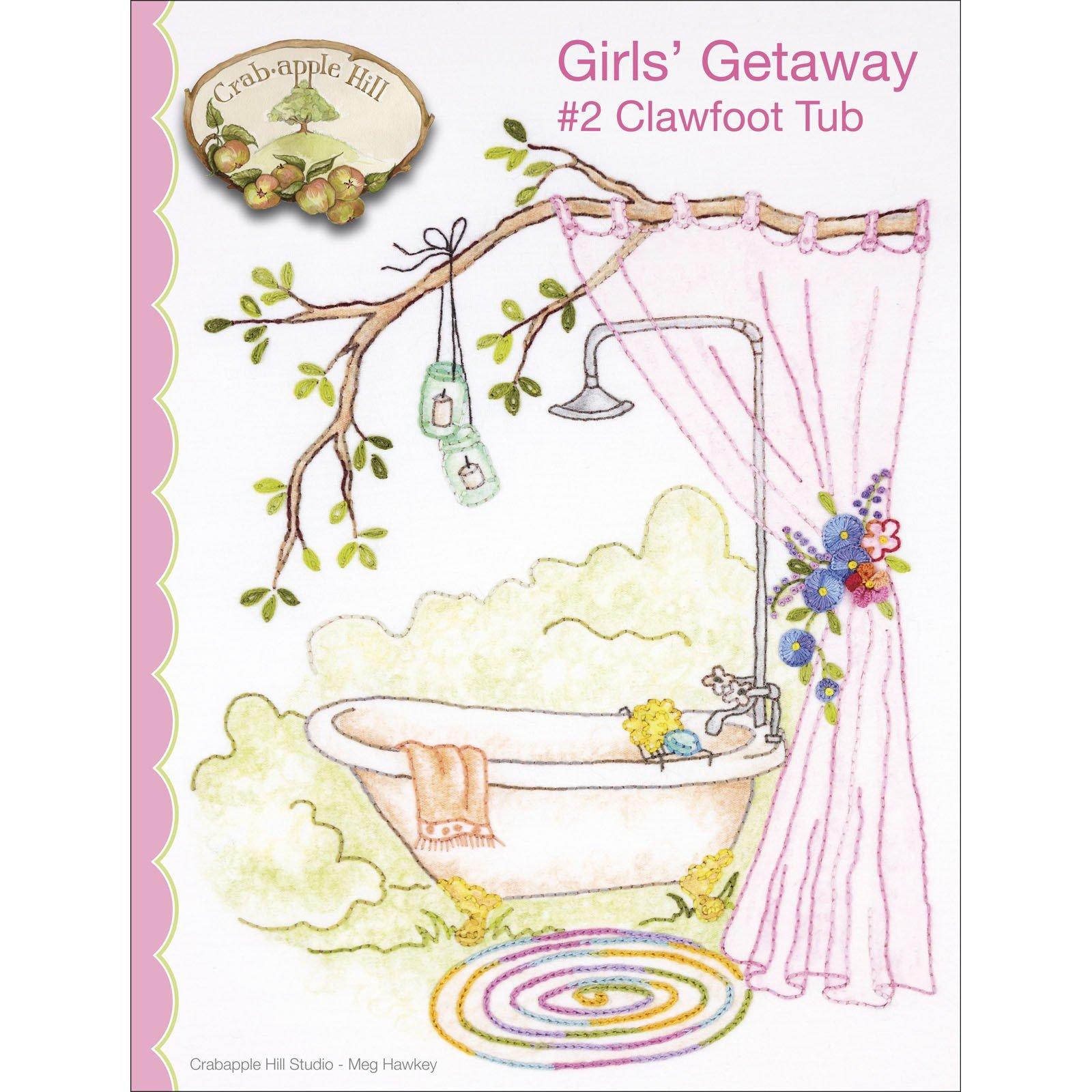 Girls Getaway 2 Clawfoot Tub