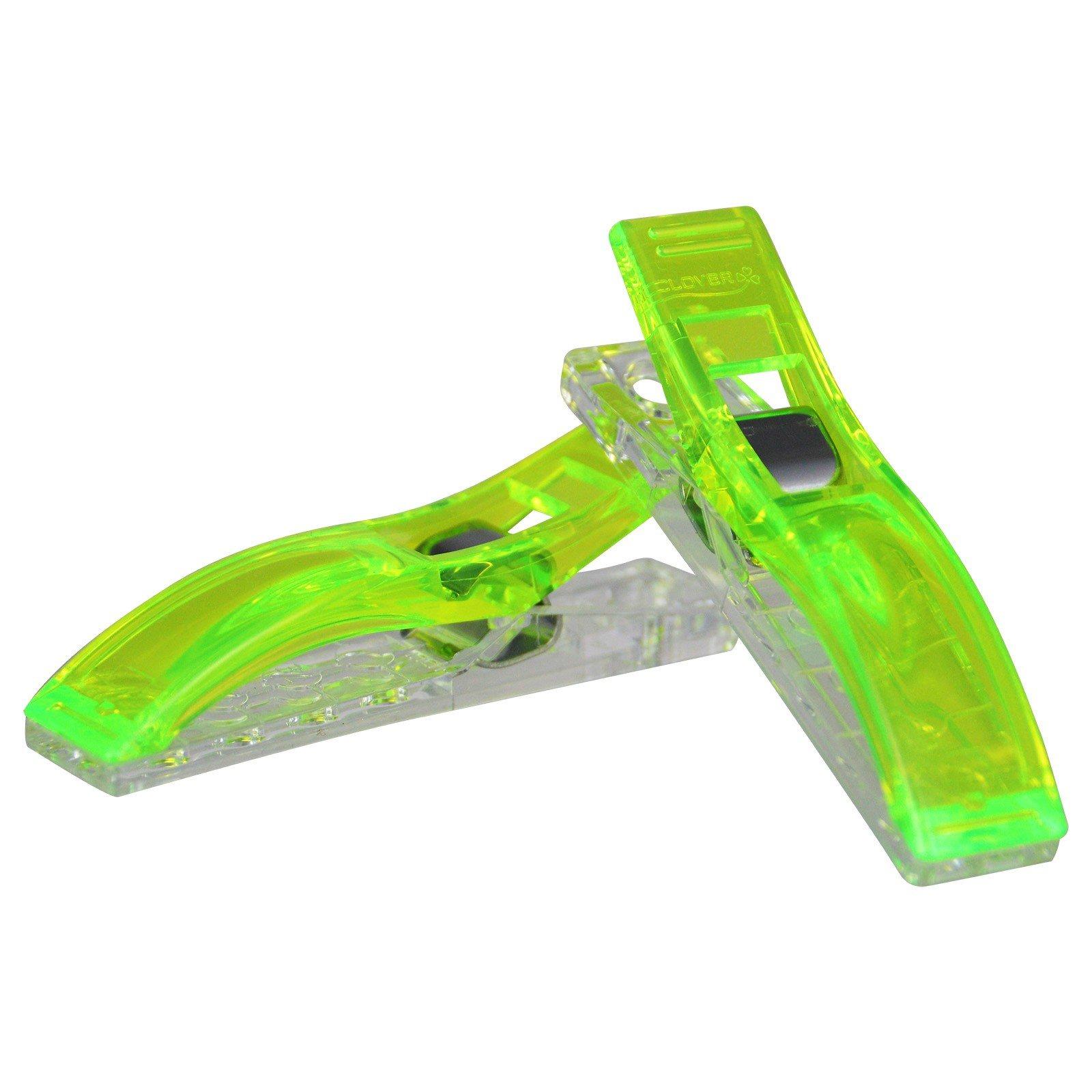 Wonder Clips Jumbo 24 ct Green!