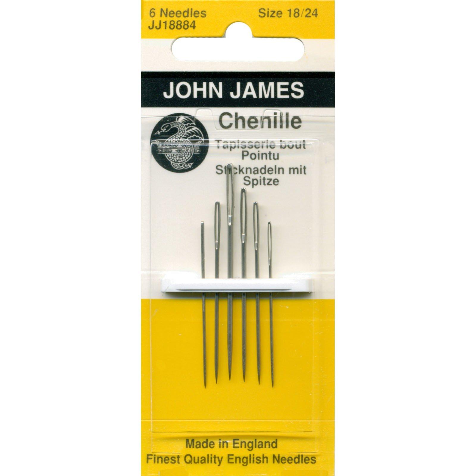 John James Chenille Needles #18 -24