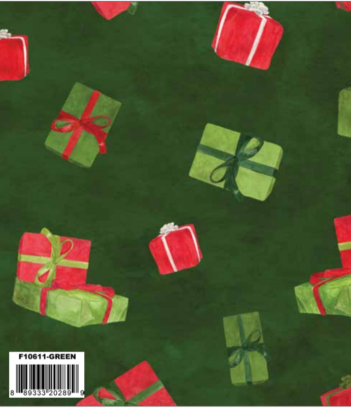 F10611-GREEN Gnome for Christmas