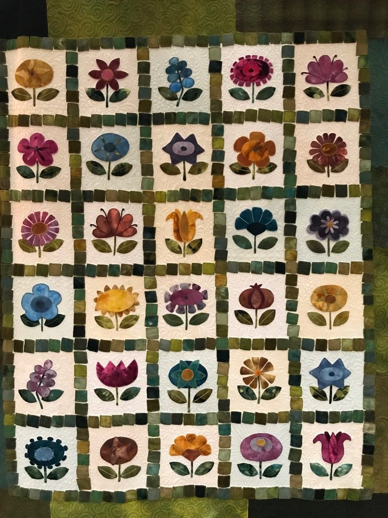 Flower Festival Block of the Month