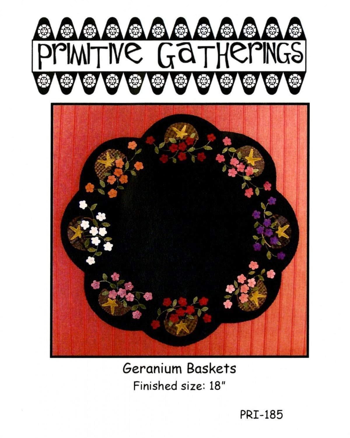 Geranium Baskets Kit