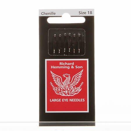 Chenille Needles  #18 Richard Hemming