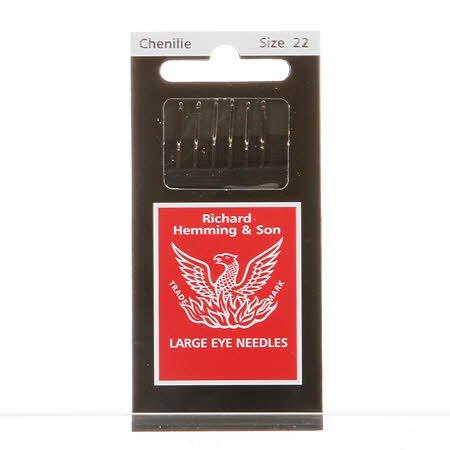 Chenille Needles #22 Richard Hemming *