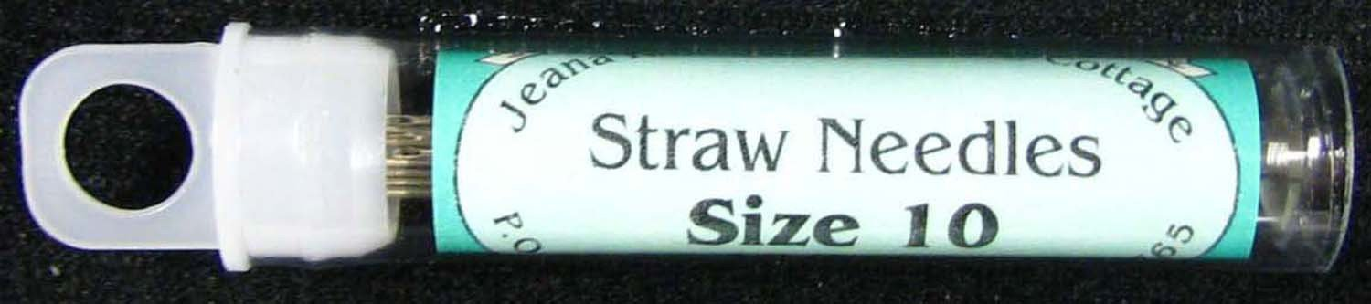 FC Straw Needles size 10 *+