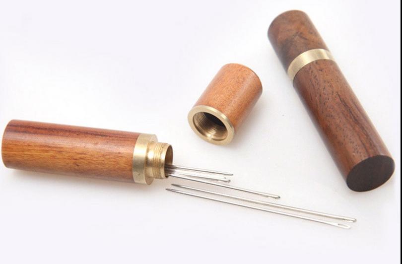 Wood Needle Case!