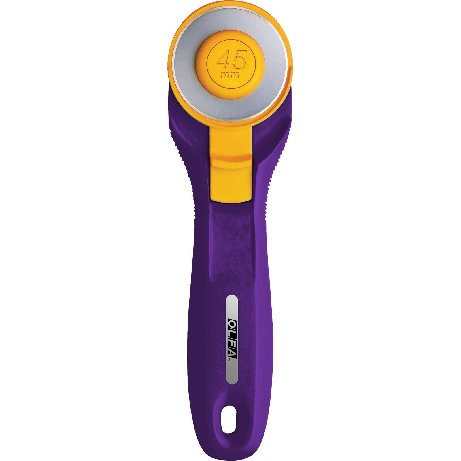 Olfa 45mm Rotary Cutter splash quick change