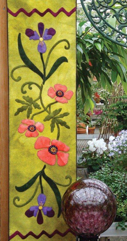 Poppies & Iris Runner Kit