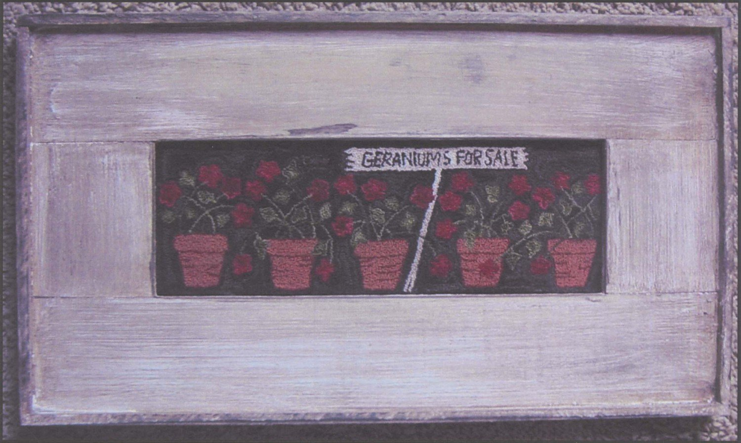 Geraniums for Sale*