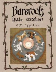 Little Stitchies Puppy Love Candlemat Kit