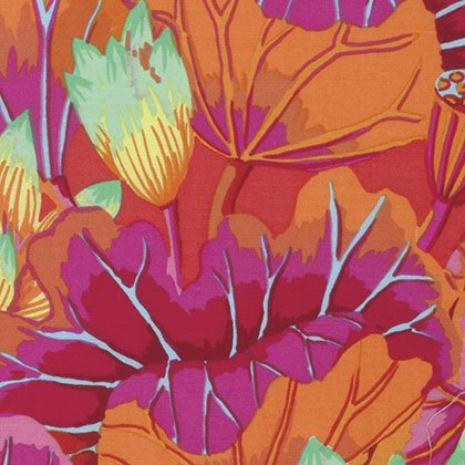 Kaffe Fassett - Classics - Lake Blossoms - Magenta+
