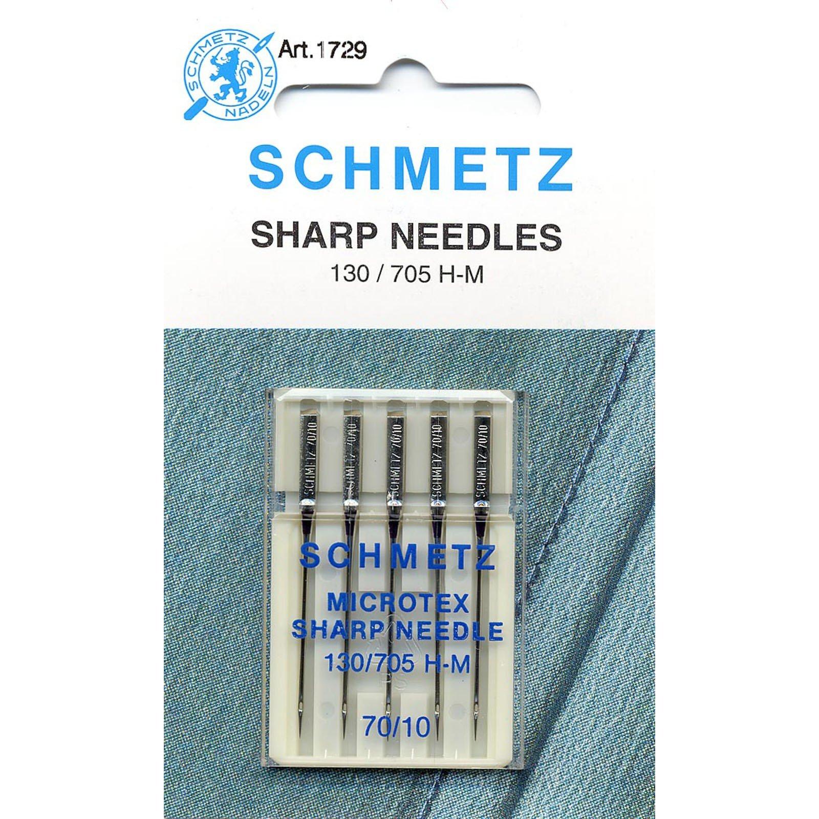Machine Needles Sharps #10/70+