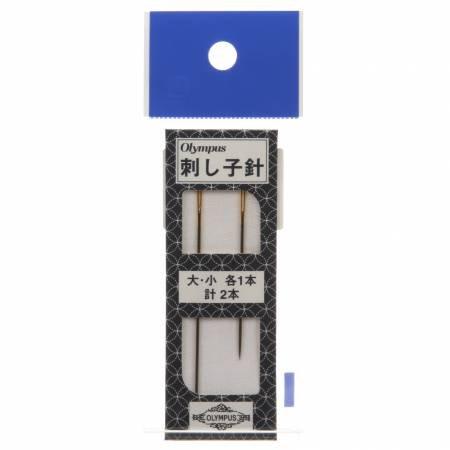 Sashiko Needles 2-piece Long & Short Pack