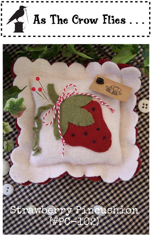 Strawberry Pincushion Kit!