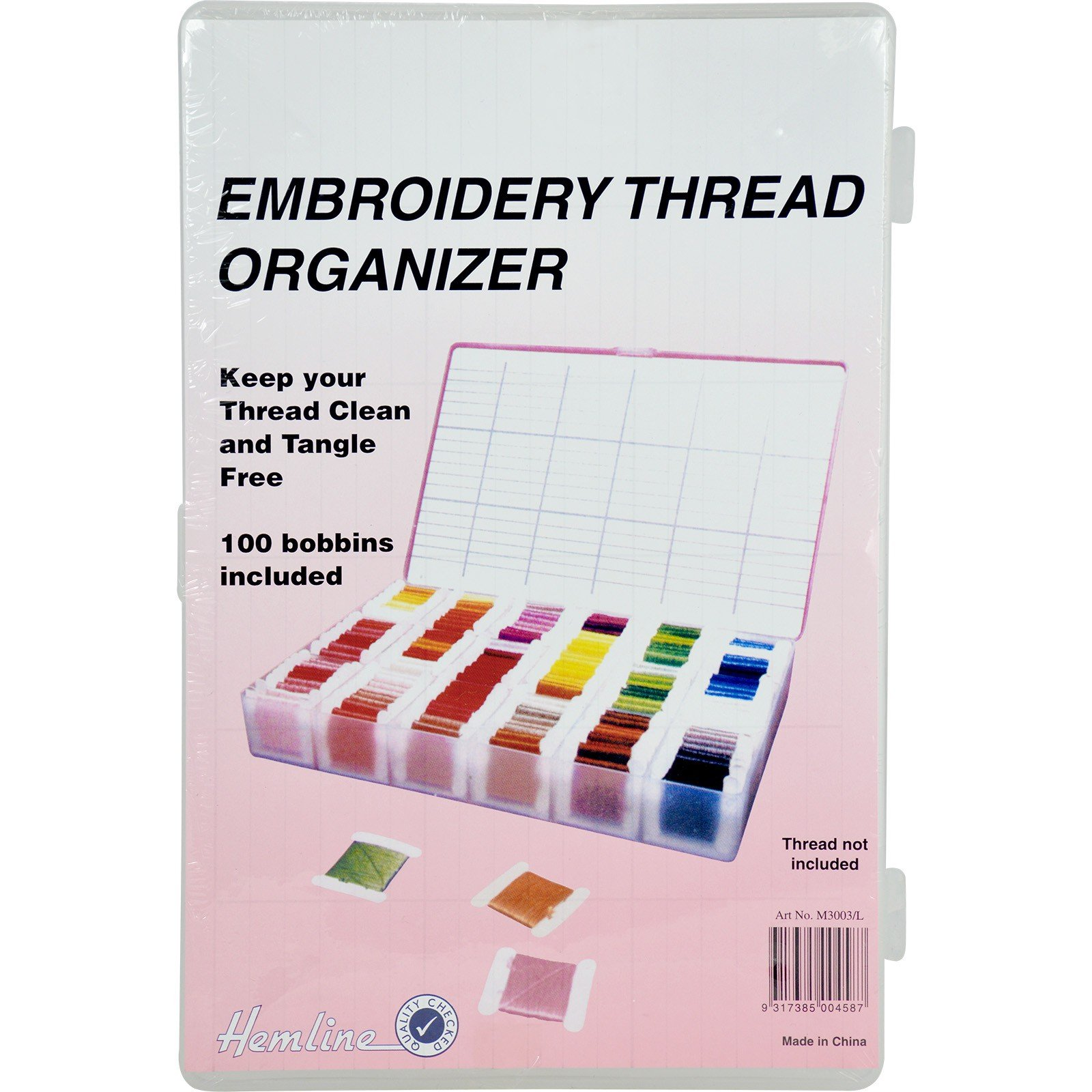 Embroidery Thread Organizer
