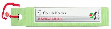 Tulip Chenille Needles #24!