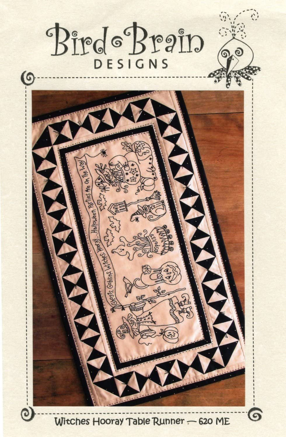 Witches Hooray Table Runner Kit