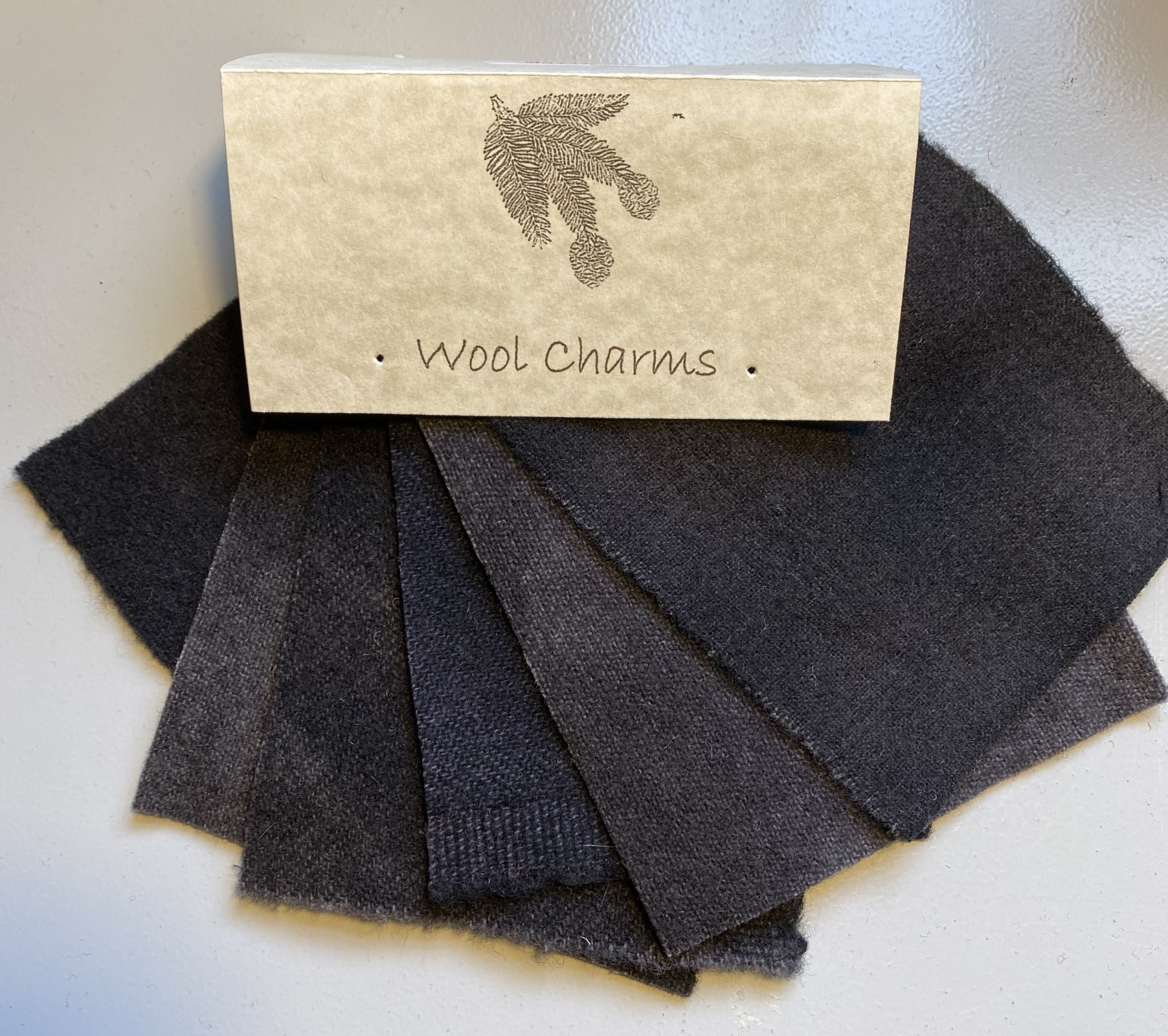 Wool Charms: Black!