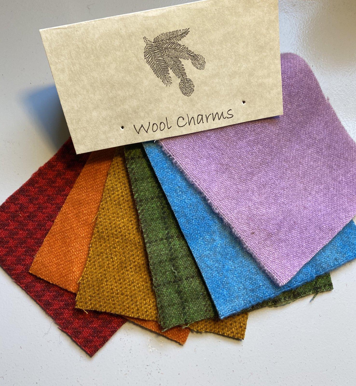 Wool Charms: Rainbow!
