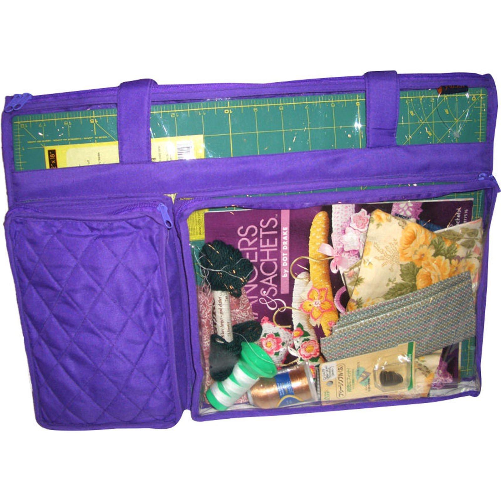 Quilt Mat Carrier Purple