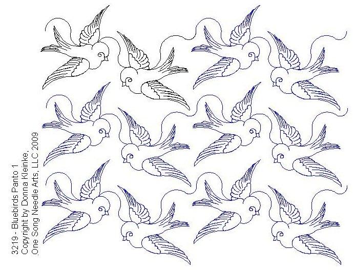 Bluebirds Panto 1