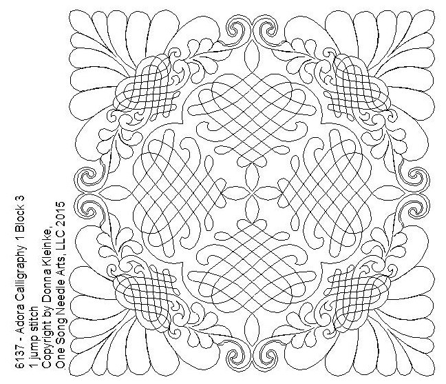 Adora Calligraphy 1 Block 3