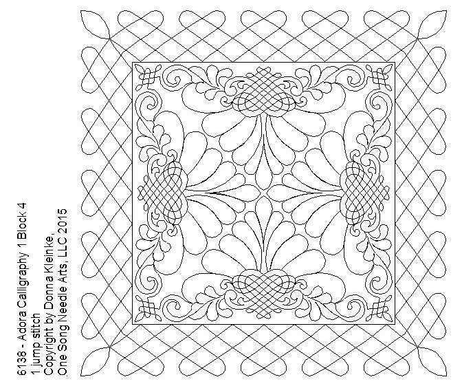 Adora Calligraphy 1 Block 4