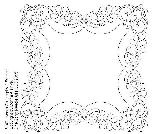 Adora Calligraphy 1 Frame 1