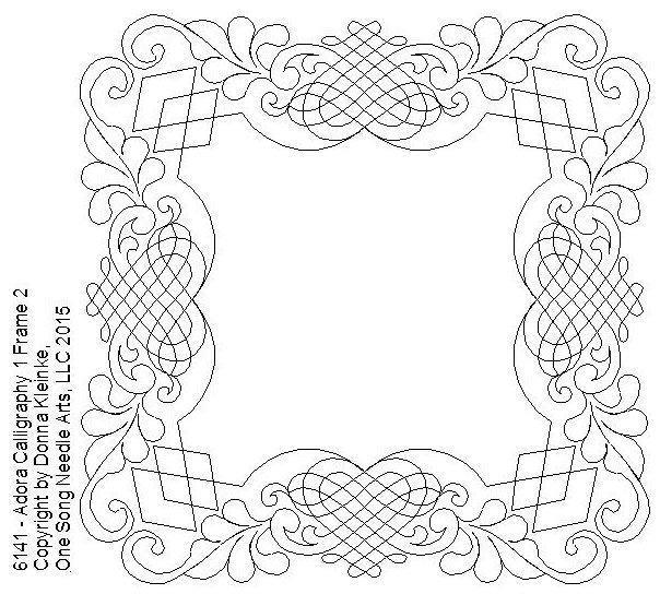 Adora Calligraphy 1 Frame 2