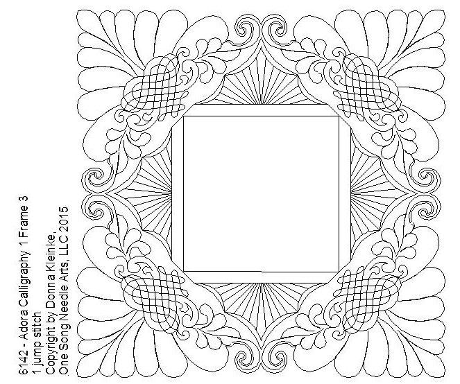 Adora Calligraphy 1 Frame 3