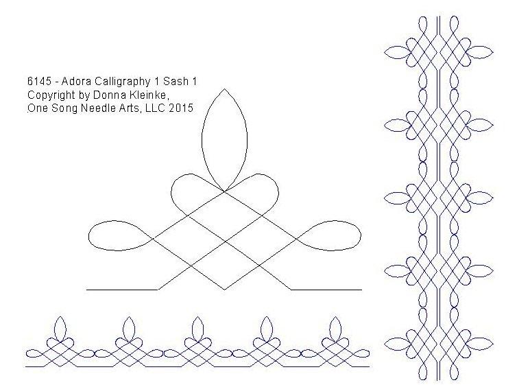 Adora Calligraphy 1 Sash 1